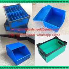 folding polypropylene pp corrugated plastic corriboard box