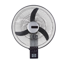 18Inch high speed 7.5 hour timer soundless standard wall fan with remote control