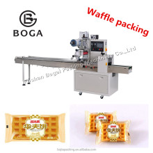 Semi-automatic wafer biscuit packing machine