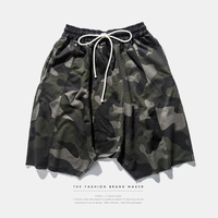 Harem Short Pants Camo Color