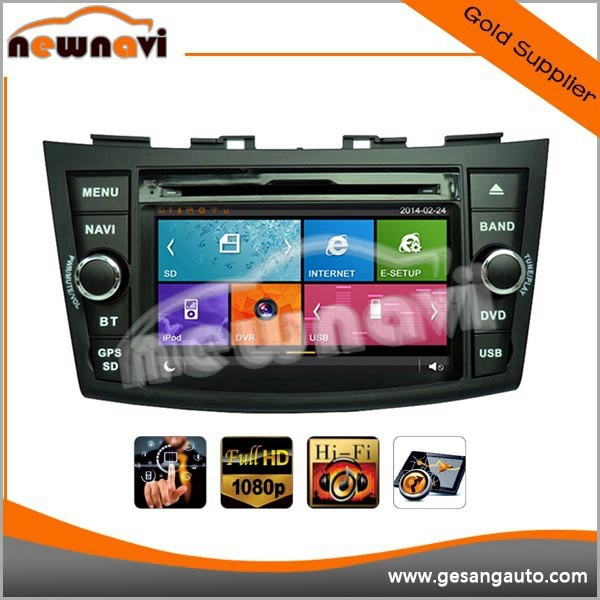 Automobile dvd player car multimedia navigation for SUZUKI SWIFT 2011-
