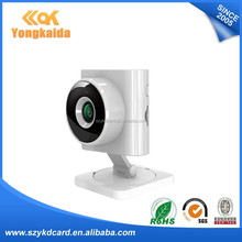 Smart Home System 1.0M CMOS Cloud P2P server 2.8mm Lens small size wifi IP Camera