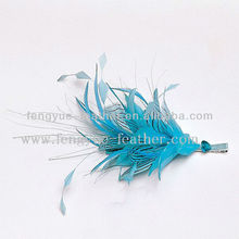 Factory Wholesale Cheap Party Decoration Supplies Comb Hairband Headband Accessories Make Feather Mount Fascinator