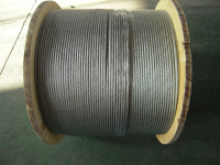 Top quality new arrival steel wire rope for aircraft 6x19+iwrc