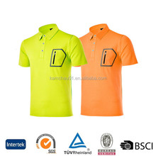 Newest golf wear clothes short sleeve blank color fast dry custom deisgn man polo shirts