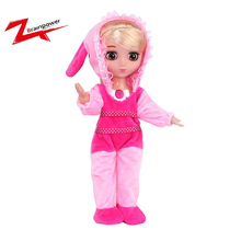 2018 New design tell story and sing song mini girl doll toy