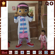Beautiful design wholesale adult doc mcstuffins mascot costume