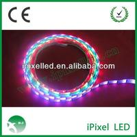 Addressable WS2801 flexible rgb led rope light