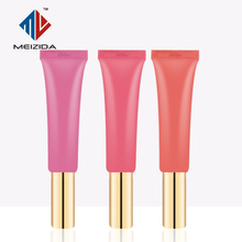 High quality squeeze mini cosmetic packaging lip balm tube