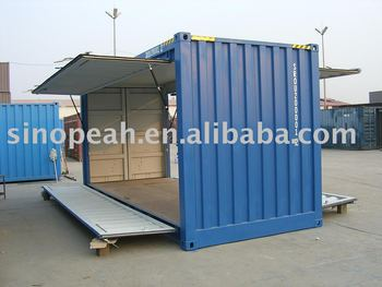 20ft swing door shipping container