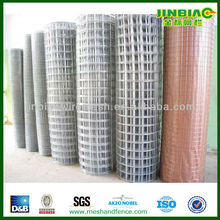 flat galvanized sheet welded wire mesh panel