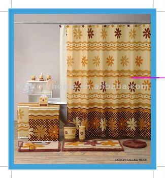 Coordinate bath set china factory matching bathroom set for Matching bathroom sets