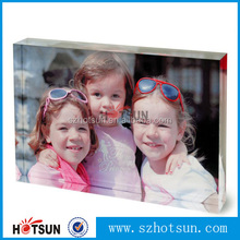 Custom acrylic photo booth frame/acrylic photo holder from China supplier