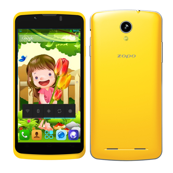 ZOPO ZP580 MTK6572 DUAL CORE 512MB RAM 4GB ROM 4.5inch QHD Screen 3G Android Smart Phone