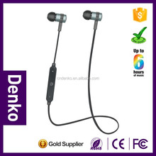 Best price light weight bluetooth earset neckband earphone with earhook