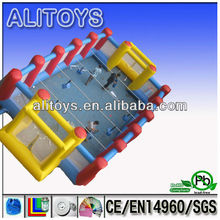 AliToys! !! 2012 new sports inflatable games/inflatable soap soccer field/commercial inflatable sports for sale