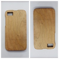 unfinished wood case for blackberry z10, for blackberry z10 wood phone case