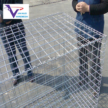 welded china gabion mesh box used for urban landscape