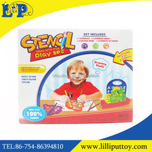 HOT Educational Plastic Stencil Drawing Toys with Pens