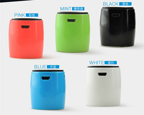 bluetooth speaker drum shape bluetooth speaker with remote shutter function