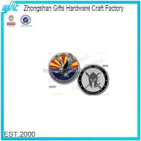 Free Artwork Design Quality Guaranteed Custom Soft Enamel Challenge Coins and Badge collection