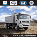 Heavy duty diesel fuel consumption of left hand drive 40ton dump truck