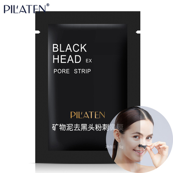 PIL'ATEN BlackHead EX Pore Strip Mud Face Mask Peel Nose Care Deep Cleaner Blackhead Removal Skin Care Clay Mask Acne Treat