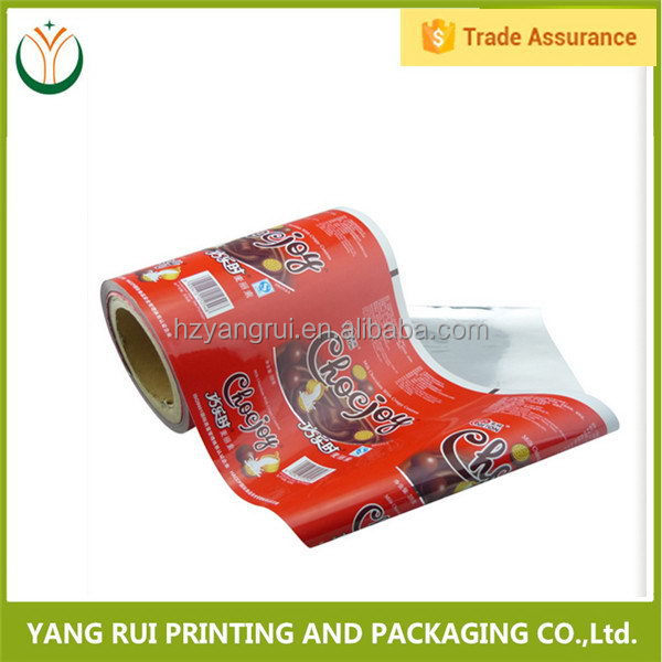 Fashionable Vivid Printing shopping plastic film roll,plastic packing film roll,laminated aluminum packaging film