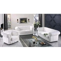 2016 modern luxury white chesterfield sofa for sale