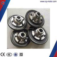 4 bolts or 6 bolts differential bevel gear for electric tricycle/rickshaw gear box