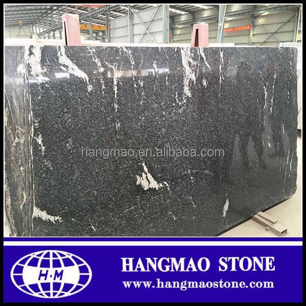 China cosmic black granite stone price