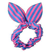 Cute Girls Rabbit Ear Hair Tie Bands Ropes Ponytail Holder