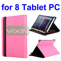 High quality Stand Leather Case for 8 Inch All Tablet PC,for 8 Inch All Tablet PC