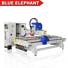 Italy HSD ATC spindle ISO 30 linear ATC router cnc with CE