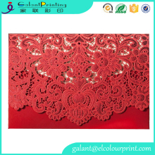 luxurious Greeting Card for a Wedding Invitation or Congratulation Bridal Couple
