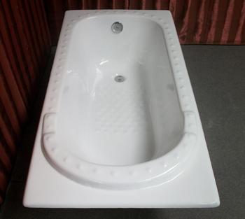 NH-024 drop in enamel cast iron bath tubs for hotel