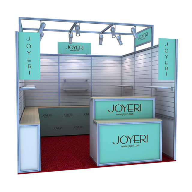 Aluminum Trade Show Exhibition Design Services