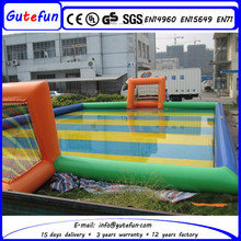 inflatable game zone inflatable sport field for football