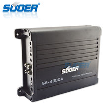 Souer New professional full range digital car audio power amplifier with bass boost