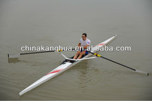 speed tiuring fiber glass rowing boat 1x