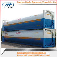 ISO 40 feet natural gas cryogenic tank container