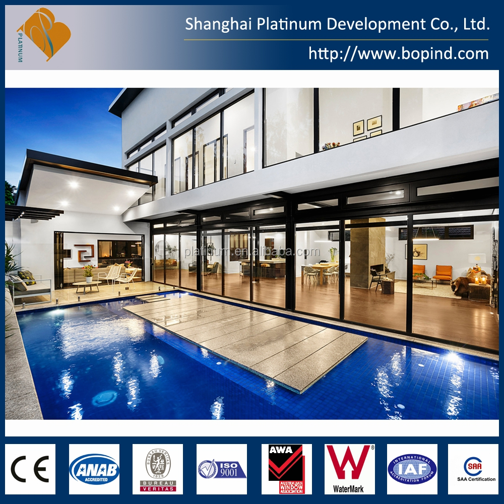 Modern Designed Prefab House with Swimming Pool from Shanghai, China