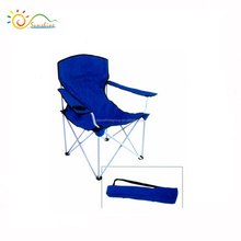 Korea camping chair folding relax chair aluminum camping chair with armrest