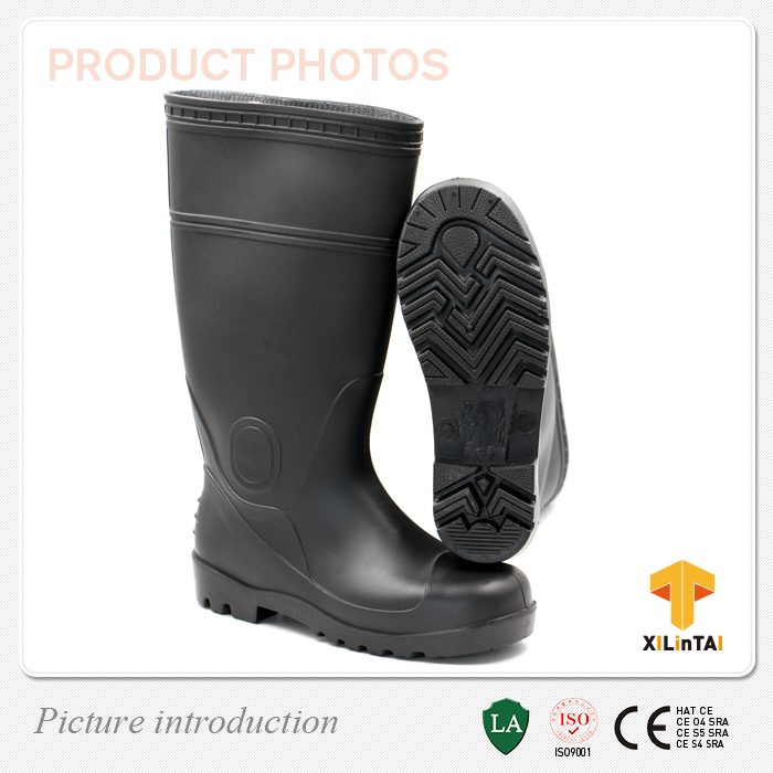 workplace safety protection pvc rain shoes