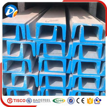 304 stainless steel channel iron standard sizes in alibaba china