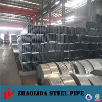 schedule 40 steel pipe ! 20*40*1.1*6000mm pre-galvanized square pipes/tube 40x40 galvanized square tube