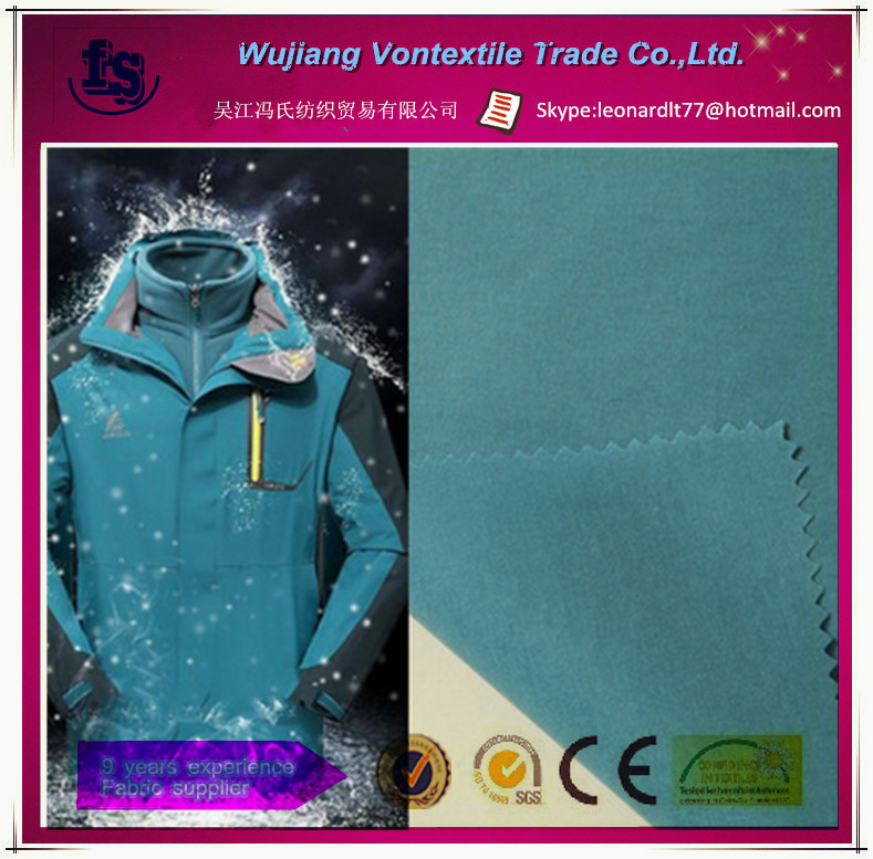 Hot selling white Tpu coated nylon oxford fabric /breathable 5000mm/3000mm oxford fabric for down jacket,outdoor cloth,etc