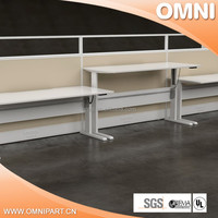 crank height adjustable office desks , design height adjustable desk