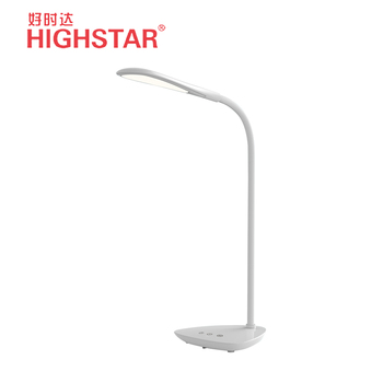 led modern dimmable 40 led sensor touch desktop lamp