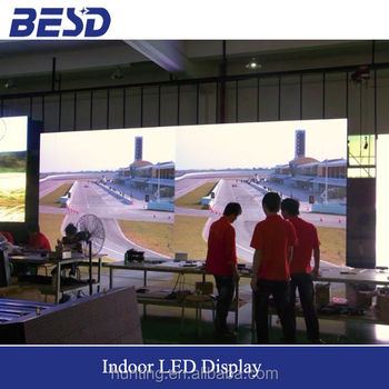 P2.5 / P3 / P4 / P5 HD indoor LED screen selling in BESD